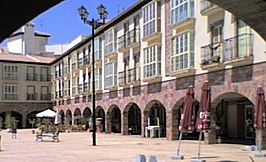 Vista de la plaza Mayor de Huércal-Overa