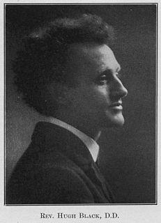 Hugh Black (theologian) British theologian