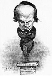 I rappresentanti rappresentati, caricatura di Hugo, opera di Honoré Daumier del 1849.