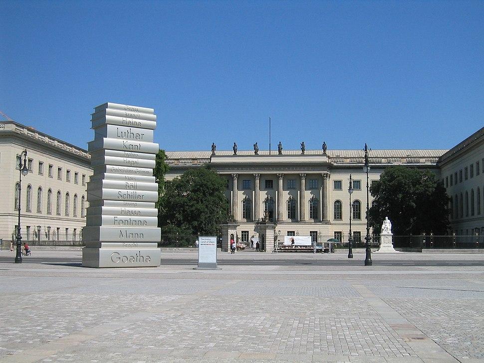 Humboldt University And Bebelplatz