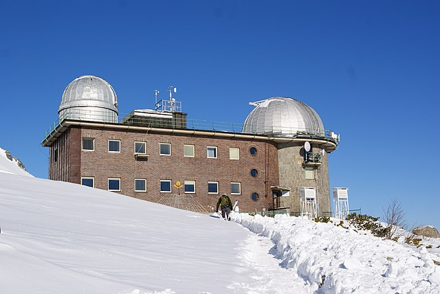 Observatory in the Tatra mountain