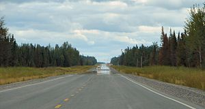 Ontario Highway 655 - ...and flat.
