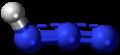 Hydrogen azide 3D ball.png