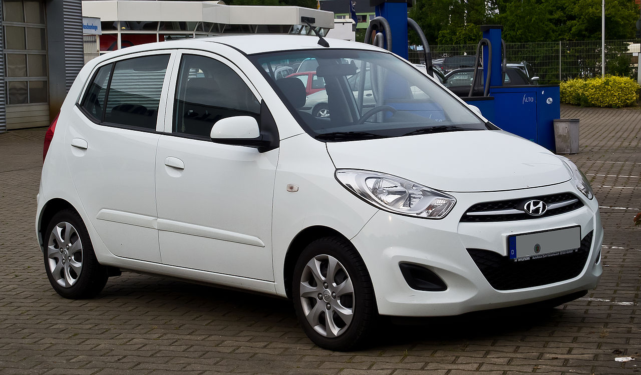 File Hyundai I10 1 2 Style Facelift Frontansicht 14