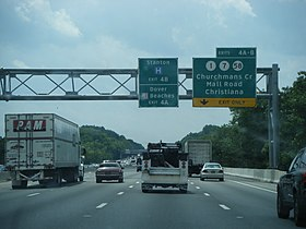 Image illustrative de l'article Interstate 95 au Delaware