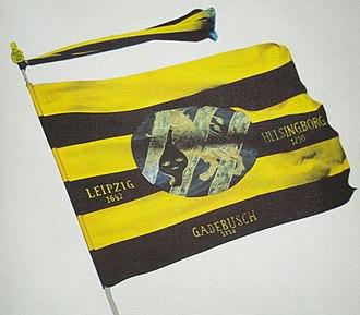 IF Elfsborg - The colors yellow and black in Elfsborg derived from Royal Älvsborgs regemente.