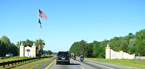 Interstate 95 in South Carolina - The southern gateway to I-95 in South Carolina