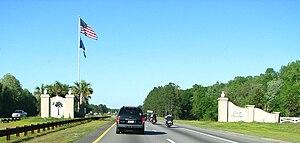 Interstate 95 in South Carolina - The southern gateway to I-95 in South Carolina