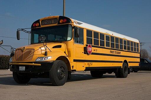 ICCE Illinois School Bus