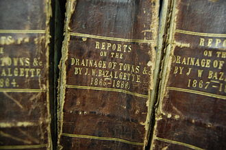 Joseph Bazalgette - Drainage reports by Bazalgette in the Institution of Civil Engineers' archives