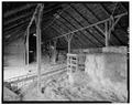 INTERIOR - LOFT - Kandt-Domann Farmstead, Barn, State Route 3, Hope, Dickinson County, KS HABS KANS,21-HOPE.V,1-B-16.tif