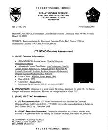 ISN 192's Guantanamo detainee assessment.pdf