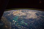 ISS-40 Caribbean Sea in the early morning.jpg