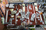ISS-43 Food table in the Unity module.jpg