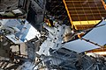 ISS-59 EVA-2 (b) Christina Koch on the external pallet at Port-4 truss.jpg
