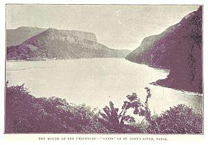 "Mzimvubu River - The Mzimvubu ""gates"""