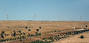 Energy in Jordan - 320 kW Ibrahimyah Wind Power Plant.
