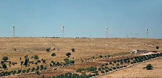 Energy in Jordan - 320 kW Ibrahimyah Wind Power Plant.