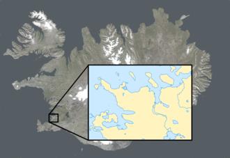 2011 Úrvalsdeild - Image: Iceland sat cleaned 2 copy