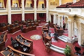 Idaho State Capitol, Chamber of the Senate-6573.jpg