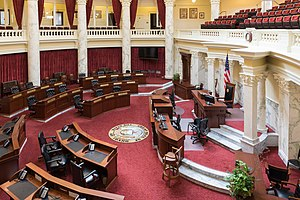 Idaho State Capitol, Chamber of the Senate-6573.jpg