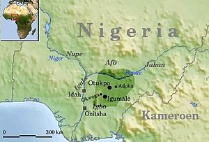 Idoma people - Idoma territory in Nigeria