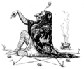 Illustration inset at page 86 of Indian Fairy Tales (1892).png