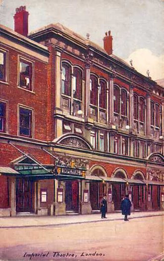 Royal Aquarium - Drawing of the Imperial Theatre