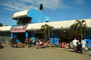 Inabanga, Bohol - Public market