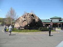 Indian Rock in the Village of Montebello, New York