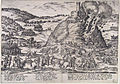 Inname van Godesberg - Capture and destruction of Godesburg in 1583 (Frans Hogenberg) upsampled and noise-reduced.jpg