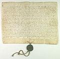 Innocenty IV poleca dominikanom krakowskim glosic krucjate do Prus i Liwonii.jpg