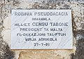 Inscription 1991-07-27, Romeo Romano Gardens, Santa Venera 001.jpg