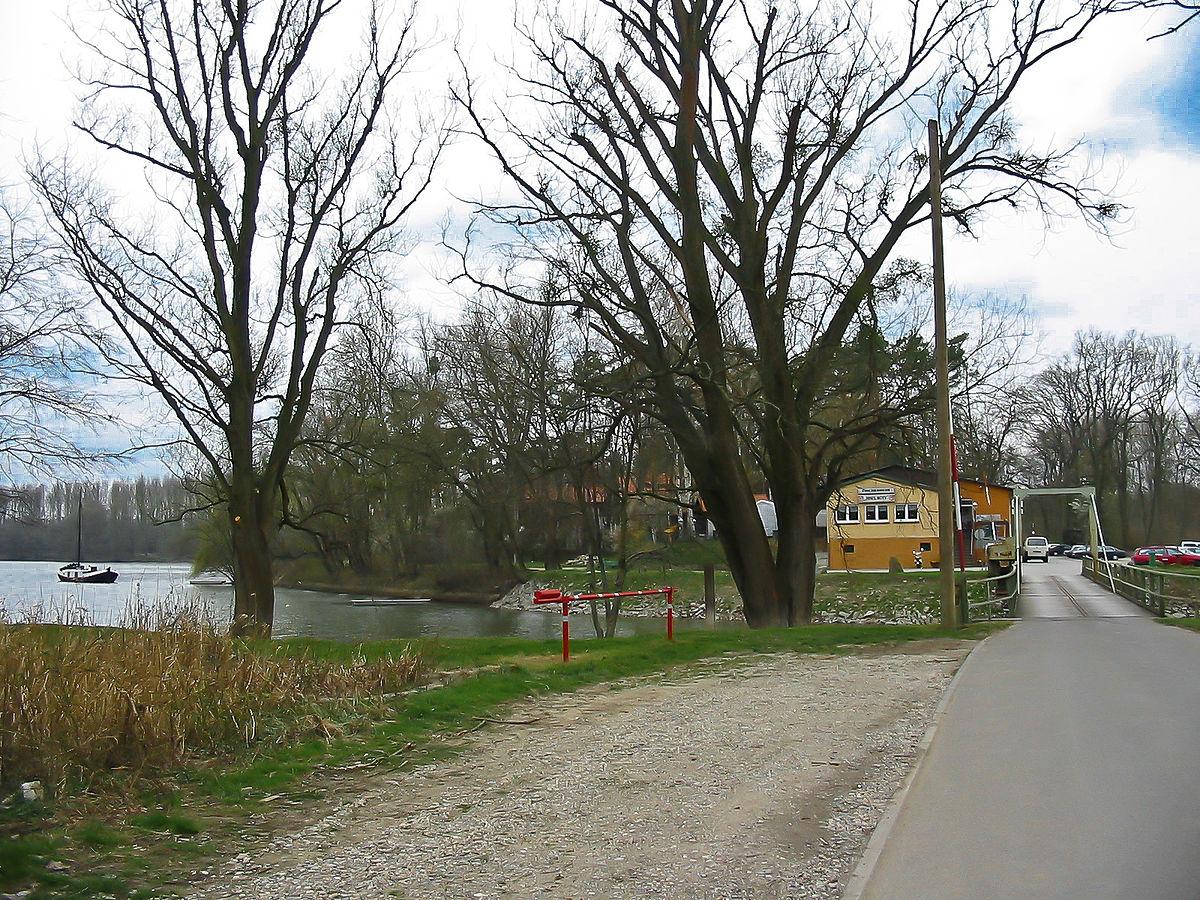 Insel Rott Am Rhein
