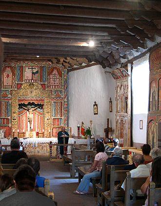 El Santuario de Chimayo - Interior of El Santuario de Chimayó