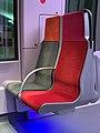 Intérieur Train Francilien Gare Haussmann St Lazare Paris 10.jpg
