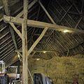 Interieur, zicht op de kap en gebinten van de schuur - Breda - 20384985 - RCE.jpg