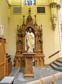 Interior of St. Raphael's Cathedral, Dubuque 06.jpg