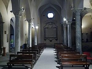 San Giovanni a Mare, Naples - Roman columns.