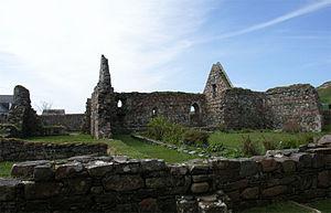 Iona Nunnery - Iona Nunnery refectory.
