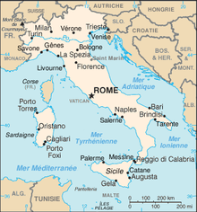 Description de l'image Italie-carte.png.