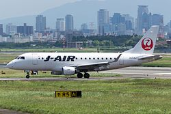 J-Air, ERJ-170, JA224J (20627796680).jpg