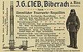 J. G. Lieb Biberach Feuerwehrausrüstung 1900.jpg