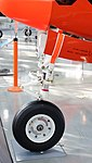 JASDF B-65(03-3094) nose landing gear left front view at Hamamatsu Air Base Publication Center November 24, 2014 01.jpg