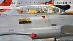 JASDF T-33A(71-5239) canopy right rear view at Hamamatsu Air Base Publication Center November 24, 2014.jpg