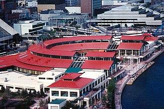 Jacksonville Landing - The Jacksonville Landing in 1987.