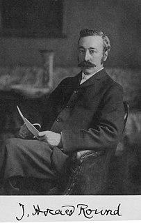 J. Horace Round 19th and 20th-century British historian