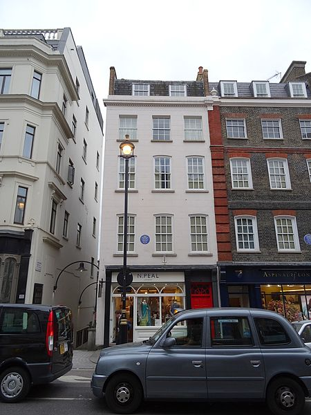 File:JIMI HENDRIX - 23 Brook Street Mayfair London W1K 4HA.jpg