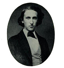 Portrait of a young Willard Gibbs, circa 1855