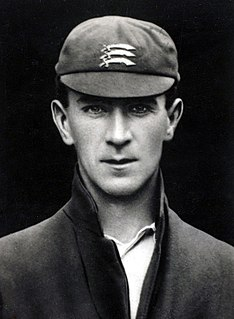 J. W. Hearne English cricketer